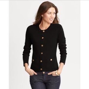 NWOT Banana Republic Black Cardigan